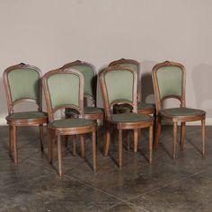 Set of Six Antique F