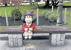 Mafalda ya tiene su monumento en España