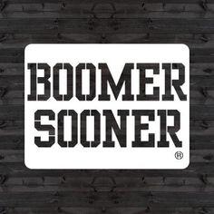 "U Stencil OU ""boomer Sooner"" Mini Stencil Oklahoma Logo, Laser Cut Stencils, Boomer Sooner, Wall Collage, Reuse, Diy Projects, Rubber Stamping, Stenciling, Honesty"