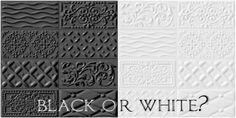 simply about home płytki Vives Rivoli - Raspail Blanco/Negro Art Nouveau, Art Deco, Moroccan Tiles, Interior S, Black And White, Diy, Inspiration, Cabin Ideas, Design