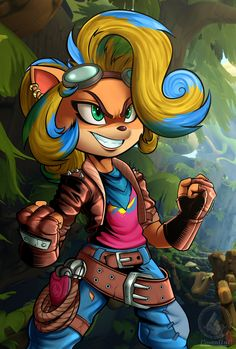 Game Character, Character Design, Crash Bandicoot Characters, Cute Pokemon Pictures, Sonic Fan Characters, Anthro Furry, Video Game Art, Furry Art, Cartoon Drawings