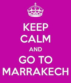Marrakech is one of the safest places to visit in the world! The sun is shining, so contacts for best prices ☀️