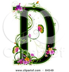 309 Best Alphabet Letters Clip Art Images Decorated Letters