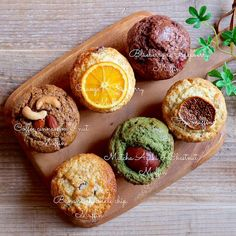Bakery Muffins, Cookie Recipes, Dessert Recipes, Sweet Cooking, Cute Desserts, Japanese Sweets, Bakery Cakes, My Best Recipe, Cake Flavors