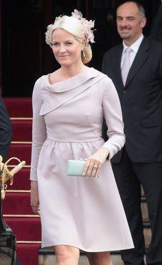 Princess Mette-Marit - Monaco Royal Wedding - Guest Sightings