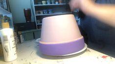Flower Pot Art, Flower Pot Design, Clay Flower Pots, Mini Cactus Garden, Garden Planters, Garden Art, Painted Clay Pots, Painted Flower Pots, Crate Decor