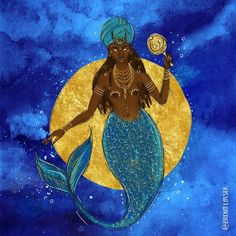 Orisha, Some Image, Tribal Art, Caribbean, Disney Characters, Fictional Characters, Religion, Spirituality, Ocean