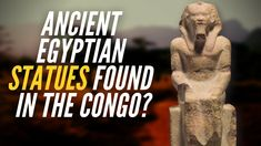Ancient Egyptian Statues In Congo? - YouTube Ancient Egyptian Statues, Ancient World History, Ancient Mysteries, Home Team, Moorish, African History, Black Magic, Congo, Black History
