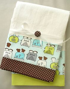 Cute retro kitchen towels to make