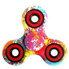 100pcs/lot DHL delivery Tri spinner Antistress Fidget Finger Spinner game Function Spinning Stress Any-steering Stres Spiner Toy