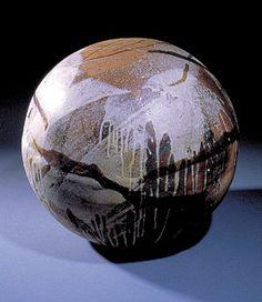 toshiko takaezu.ceramics.moon ball by moosoid9, via Flickr