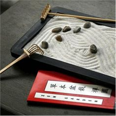 Homemade Zen Garden! We'd build it ourselves as a date :). I already have the rocks I would use.....