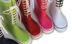 Maniera Boots--pliable enough to fold into your luggage, but still keep your feet dry. (And oh-so-cute!)