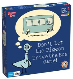 Don't Let the Pigeon Drive the Bus Game! University Games http://www.amazon.com/dp/B003G9QEGG/ref=cm_sw_r_pi_dp_YcOnvb1JY3DS2