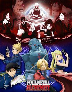 Fullmetal Alchemist Poster by Toontown-Slendy on DeviantArt