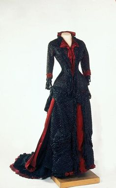 Dress of Empress Maria Feodorovna, 1880's From the State...