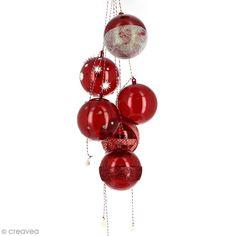 Suspension boules de Noël