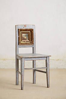 Lagoon Frame Chair this chair is fantastic! Recycled Furniture, Cool Furniture, Painted Furniture, Furniture Design, Furniture Projects, Diy Nightstand, Old Frames, Painted Chairs, Chair Backs