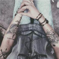34 Best Grunge Tattoos For Girls Images Tatoos Female Tattoos