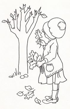 Girl Picking Up Leaves | Flickr - Photo Sharing!