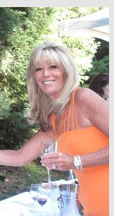 Susan Martin wears custom Camilla Olson for Vintage Affaire 2012.