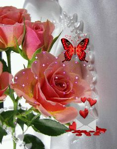 Share this ecard with a special friend. Free online A Very Special Friend Ecard ecards on Friendship Flowers Gif, Pretty Flowers, Beautiful Gif, Beautiful Roses, Ronsard Rose, Glitter Graphics, Gif Pictures, Love Rose, Beautiful Butterflies