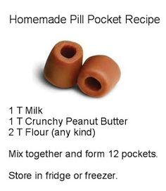 How to Make Homemade Pill Pockets for Pets
