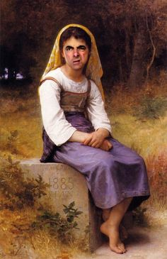 Mr. Bean Inserted Into Historical Paintings (14 Pics) – Pleated-Jeans.com