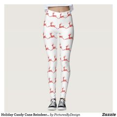 New Girls Xmas Santa Baby Reindeer Gift Holly Stretchy Christmas Leggings Pants