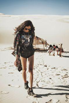 #Tropical Beach Throw   Desert Trek - www.fashionara.com