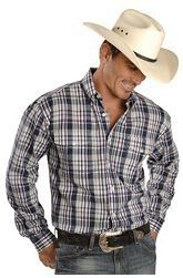 Take your western look to a whole new level with any of the featured men's cowboy shirts. Whether your looking for a men's western shirt with...