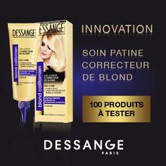 testez le soin patine correcteur de blond dessange comptence professionnelle test gratuit pour cheveux colors - Soin Cheveux Blond Colors