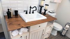 Une salle de bains champêtre chic | Rénovation Bricolage