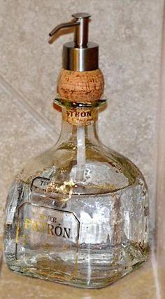 I love the idea of putting the dispenser through a cork - so easy!!