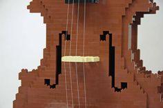 LEGO - Nathan Sawaya - Cello