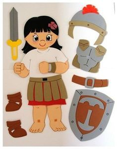 Versao menina da armadura do espirito ideia do blog arts da tia ká: armadura do espirito
