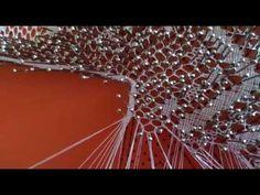 Pie de pañuelo de encaje de bolillos - YouTube Tutorial, Videos, Youtube, Lace, Feet Nails, Report Cards, Dots, Tejidos, Bobbin Lace