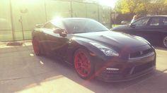 'Alpha' tuned Nissan GTR