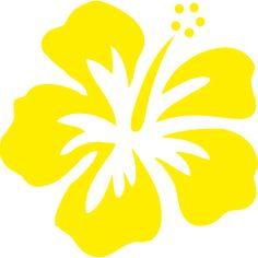 Stickers Réunion Hibiscus sur transfert