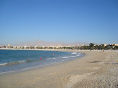 Ras al Khaimah in front of the Hilton. I walked all the way along every day. Ras Al Khaimah, Dubai Uae, All The Way, Beaches, Day, Water, Travel, Outdoor, Gripe Water