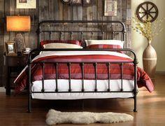 Bedford Queen Metal Bed - Art Van Furniture