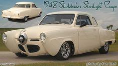 1948 Studebaker Starlight Coupé.
