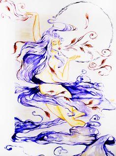 Air Naira Hart Elements Illustration
