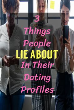What do people lie about on online dating profiles