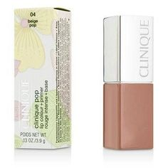 Clinique Pop Lip Colour + Primer - # 04 Beige Pop - 3.9g-0.13oz
