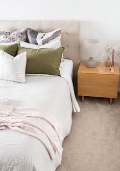 Browse our range of cut pile, loop pile, textured, plush and patterned carpets for your home. We offer pet friendly as well as stain resistant options to stand the test of time. Dream Bedroom, Home Bedroom, Bedroom Decor, Bedroom Loft, Master Bedrooms, Minimal Bedroom, Bedroom Inspo, Bedroom Ideas, Decor Scandinavian