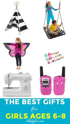 Holiday and Christmas shopping for girls can be tricky! Here are 20 gift ideas for girls 6-8 years old for every price range to fit your budget.