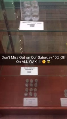 Shatter Saturday! Don't Miss Out on 10% Off All Wax Donations #wax #crumble #shatter #taffy #budder #concentrates #extracts #potent #sbg #deals #saturday #chulavista #collective #dispensary #shop #waxshack #loudpack