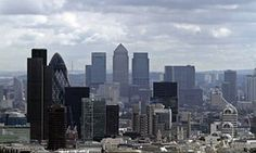 City of London and Canary Wharf