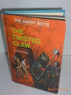 The Twisted Claw (Hardy Boys #18) by Franklin W. Dixon
